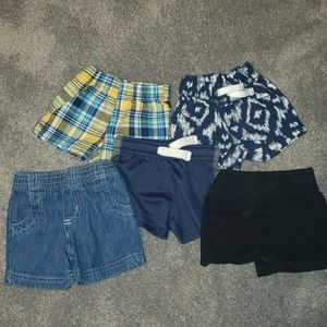 Baby boy lot of shorts